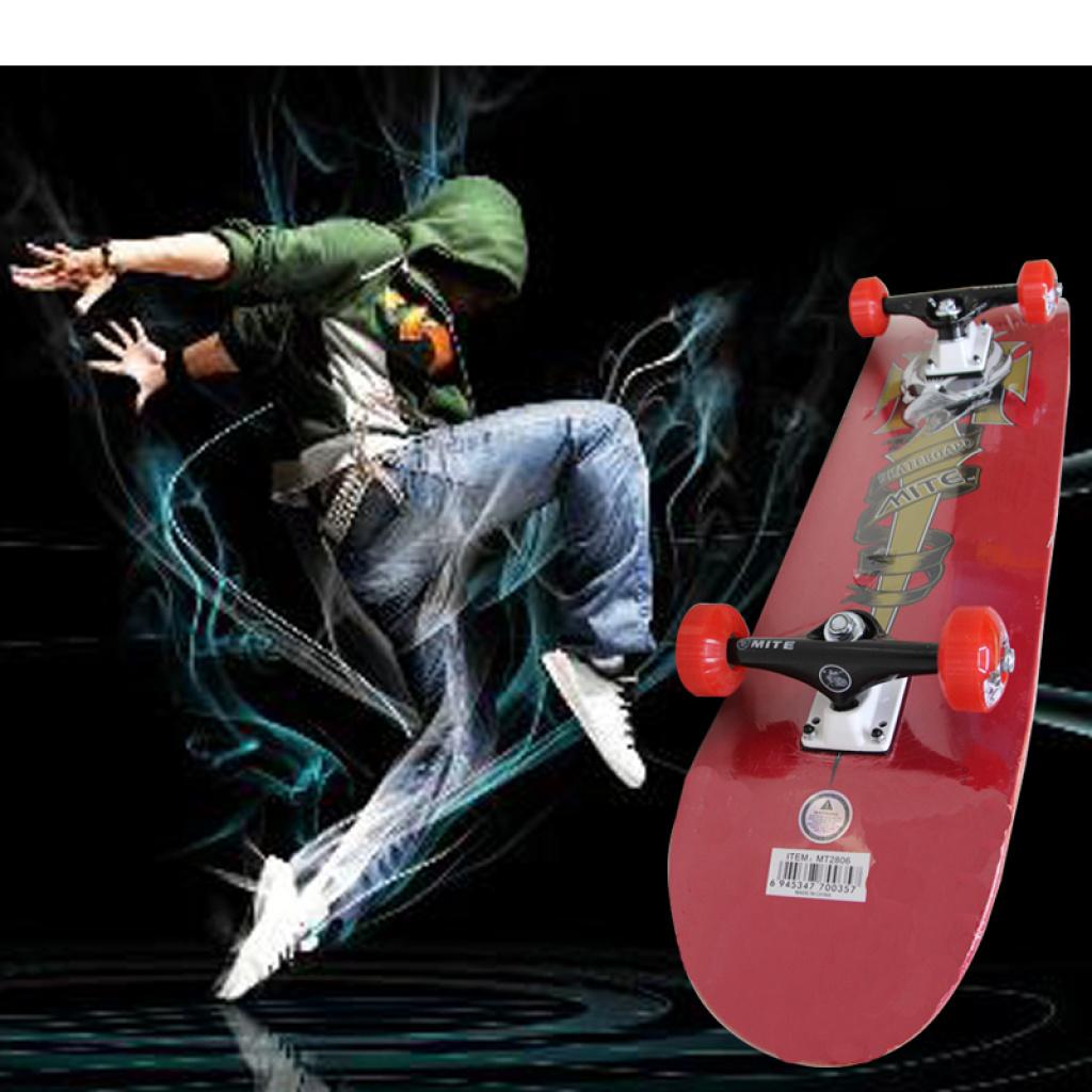 806 双翘加拿大枫木板 双面翘滑板