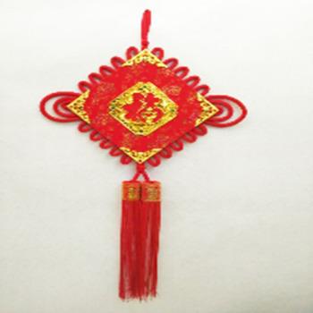 厂家直销 方正红福 中国结  婚庆家居装饰