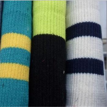 2x2 and 1x1 cross rib cuffs cuff trousers head knitted fabric