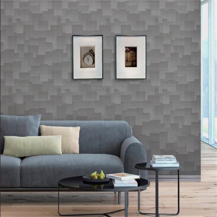 hot sale clock design modern pvc wallpaper home decorative w