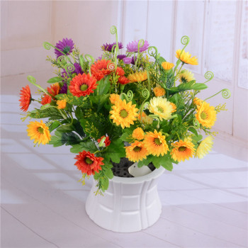 Artificial flowers artificial flowers 10 head tail Chrysanthemum