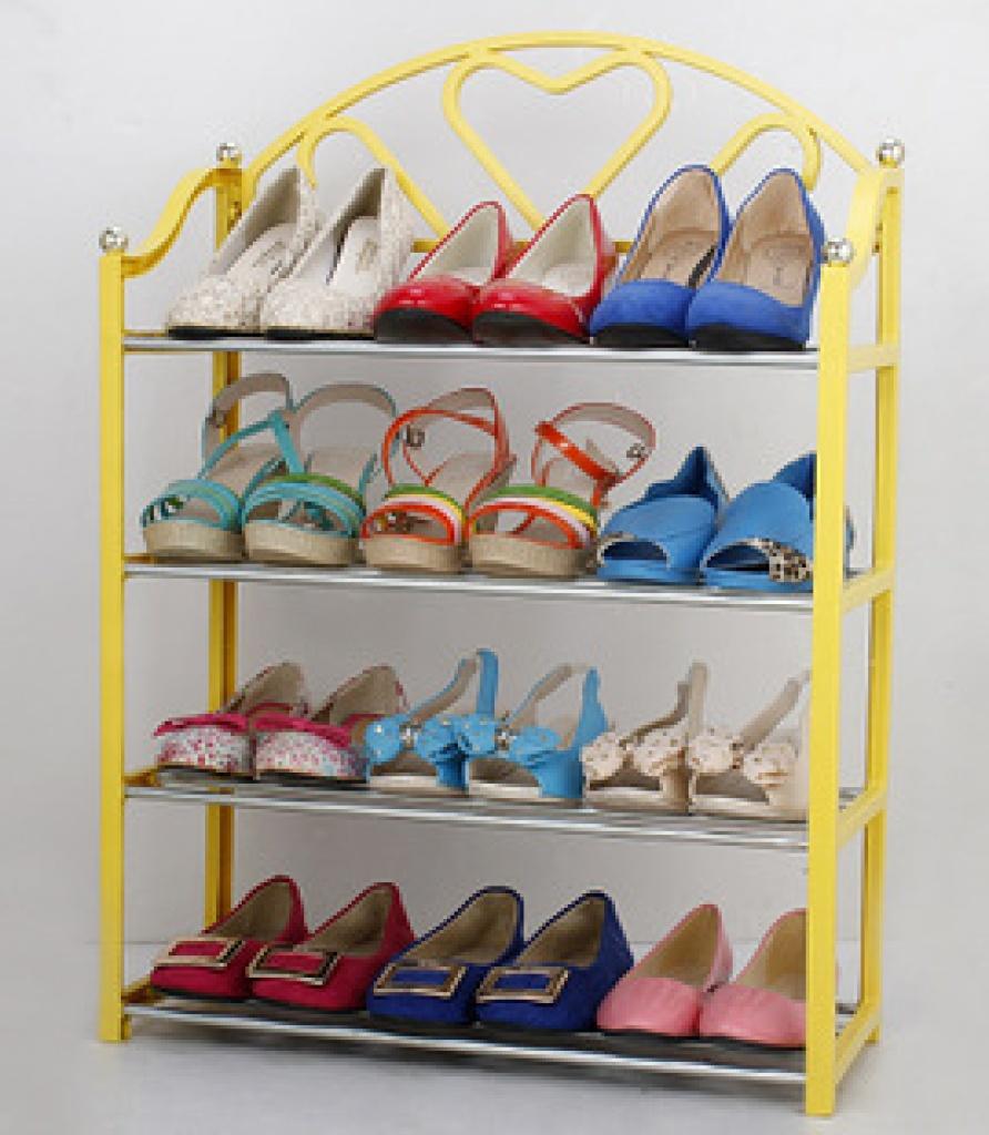 小学生手工制作鞋架