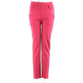 New winter colored cotton pants bright velvet leggings  women's warm straight-leg pants