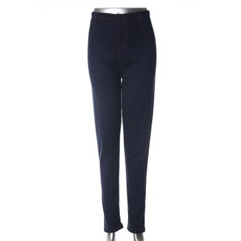 Jeans leggings women's long pants solid color skinny pants