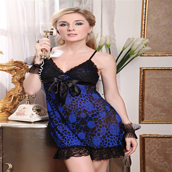 Foreign manufacturers supply sexy lingerie wholesale women's Strapless Halter sexy pajamas