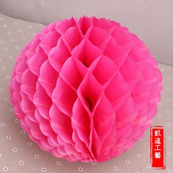 Honeycomb paper honeycomb paper flower garland festival lantern festival decoration wedding wedding supplies
