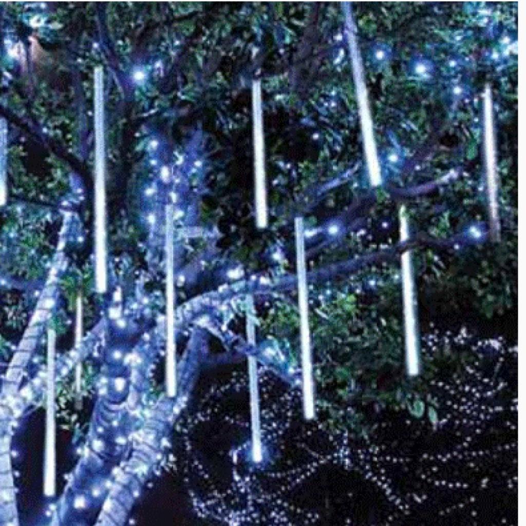 流星灯led流星雨5050户外树灯彩灯装饰灯双面发光