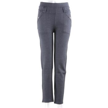 New colored casual ninth pants autumn and winter skinny casual pants