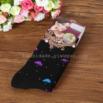 Thickened pure cotton sockswomen's winter thickened terry socks women's elastic socks