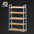 With quality stores shelves display cabinet-5 ladder Ironwood Island cabinet with shelves