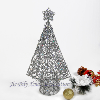 Xmas Tree Metal Crafts Home Decoration For Weddeing Home Decoration