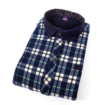 New super soft inside super soft thickened milk wire Cardigan shirt men's warm