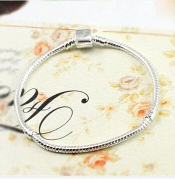 Do not fade pure stainless steel bracelet titanium bracelet wholesale chain Pandora Foundation
