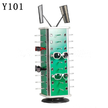 Display rack can be rotated to the spectacle frame glasses