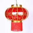 400 dot Fu lantern rotating lantern corridor LED lamp chandelier hanging spring festival
