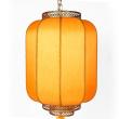 Corrugated cloth imitation sheepskin gourd lanterns manufacturers selling outdoor teahouse hotel decoration