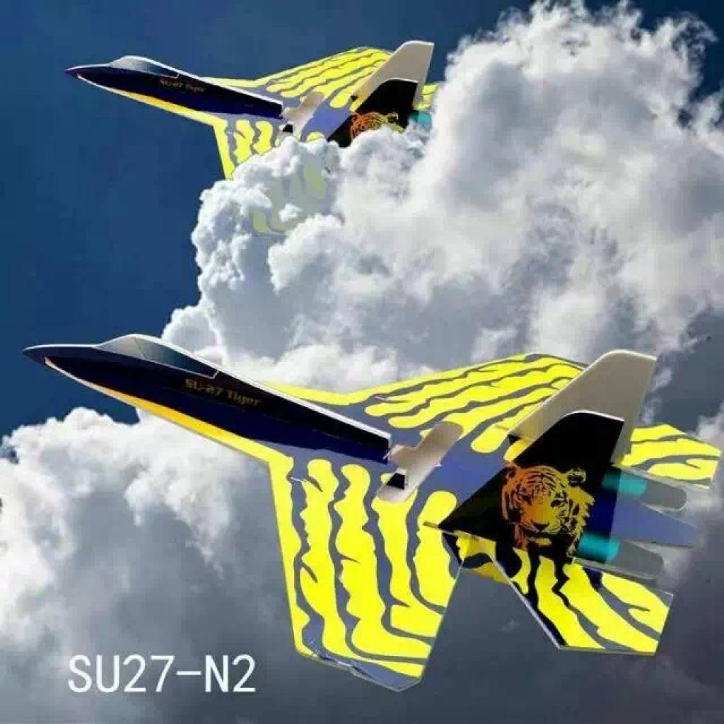 航模飞机苏27战斗机超大kt板遥控飞机固定翼航模战斗