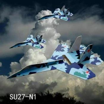 航模飞机苏27战斗机超大kt板遥控飞机固定翼航模战斗机