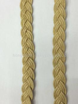 厂家现货特批9股蜡绳编织带