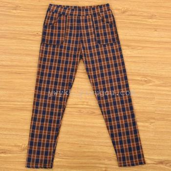 Middle-aged ninth pants fashion leggings elastic mothers' pants