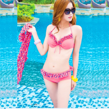 Ladies and conjoined one-piece swimsuit fashion nylon sports swimming swimming skirt skirt