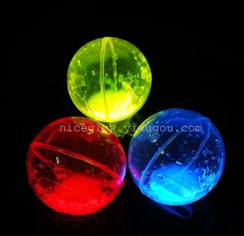 Luminous bounce  ball, fluorescent elastic ball