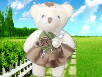 Plush toys package flower accessories wedding gifts Valentine's Day gifts clothing accessories manufacturers direct