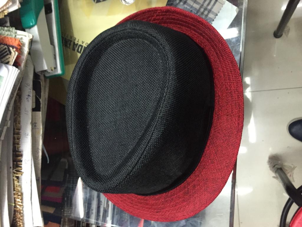 时尚帽子编织帽草礼帽