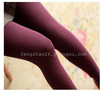 Diana Julia Feng Caimian colorful cotton and cashmere thick warm PANTS LEGGINGS one pants