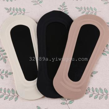 Socks summer cotton socks women's  silicon gel anti-slipping socks