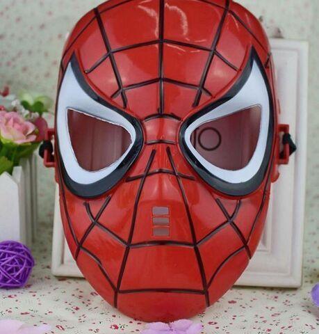 蜘蛛侠面具 万圣节蜘蛛侠儿童节派对化妆舞会面具动漫卡通