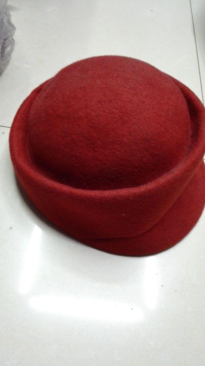 女士羊毛呢小礼帽 秋冬毡帽