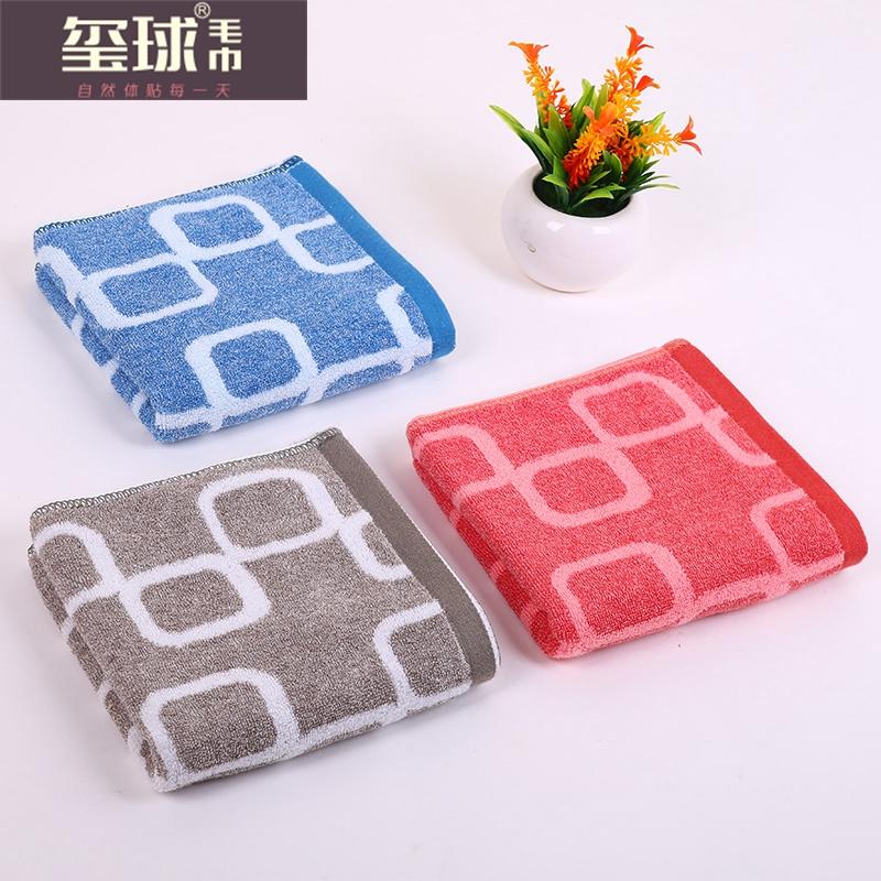 подарок полотенце хлопок полотенце, темно - AB пряжи, полотенце, чтобы отметить геометрический паттерн творческих полотенце