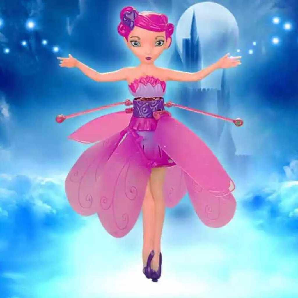 女孩玩具直升机感应小飞仙飞机悬浮空中不落地充电
