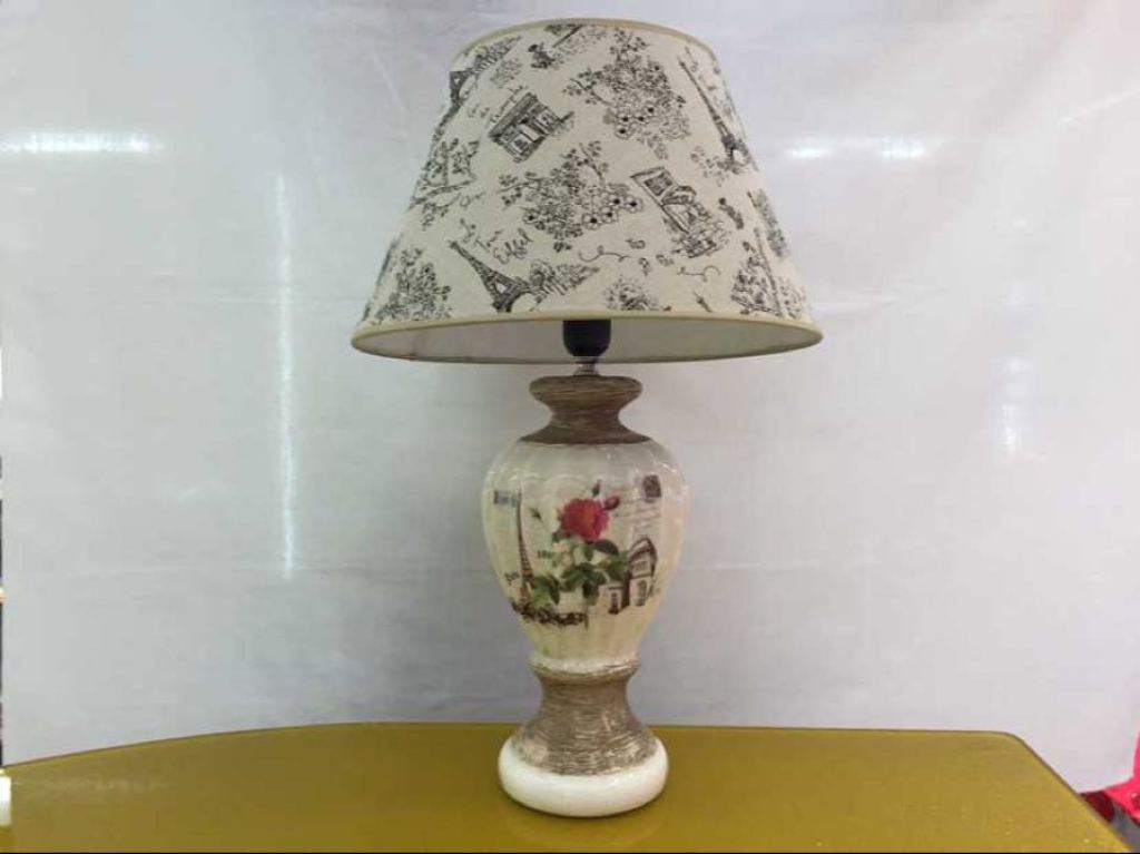 高档灯床头卧室客厅陶瓷台灯现代欧式美式中式灯具