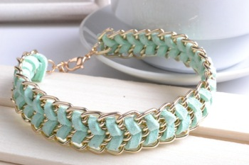 Men and women, South Korea velvet chain fashion woven Bracelet