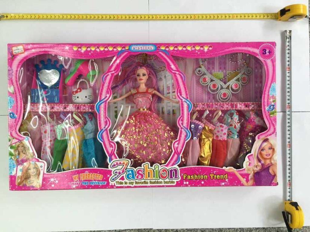 芭比娃娃精品套装玩具