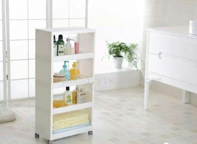 Closet Shelf Kitchen Bathroom Bathroom Refrigerator Fridge Movable Storage Shelf