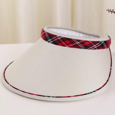 Double edge cap visor Visor Cap Hat Lady Riding Hat