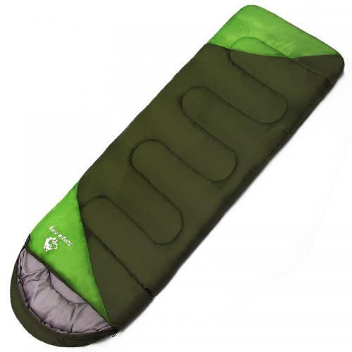 Factory direct outdoor camping sleeping bag, spring and autumn winter thick warm Adult sleeping bag