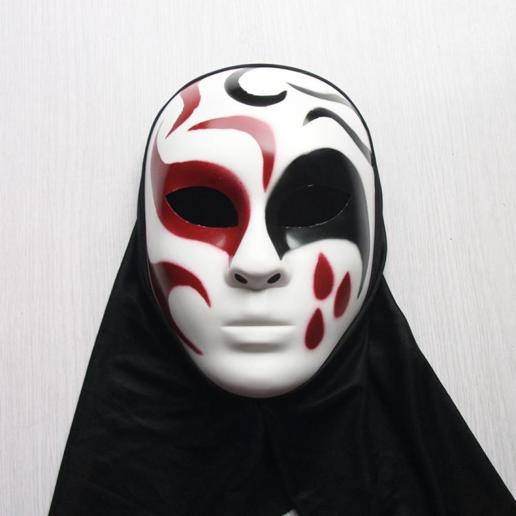 手绘万圣节面具