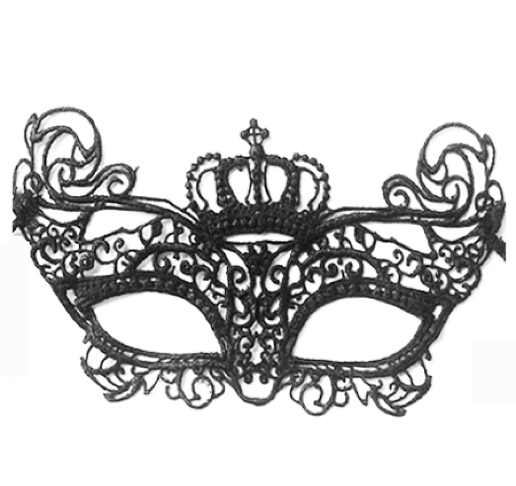 镂空蕾丝面具 黑色性感夜店酒吧舞会表演圣诞万圣节
