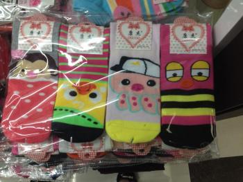 Cotton women's new printed socks
