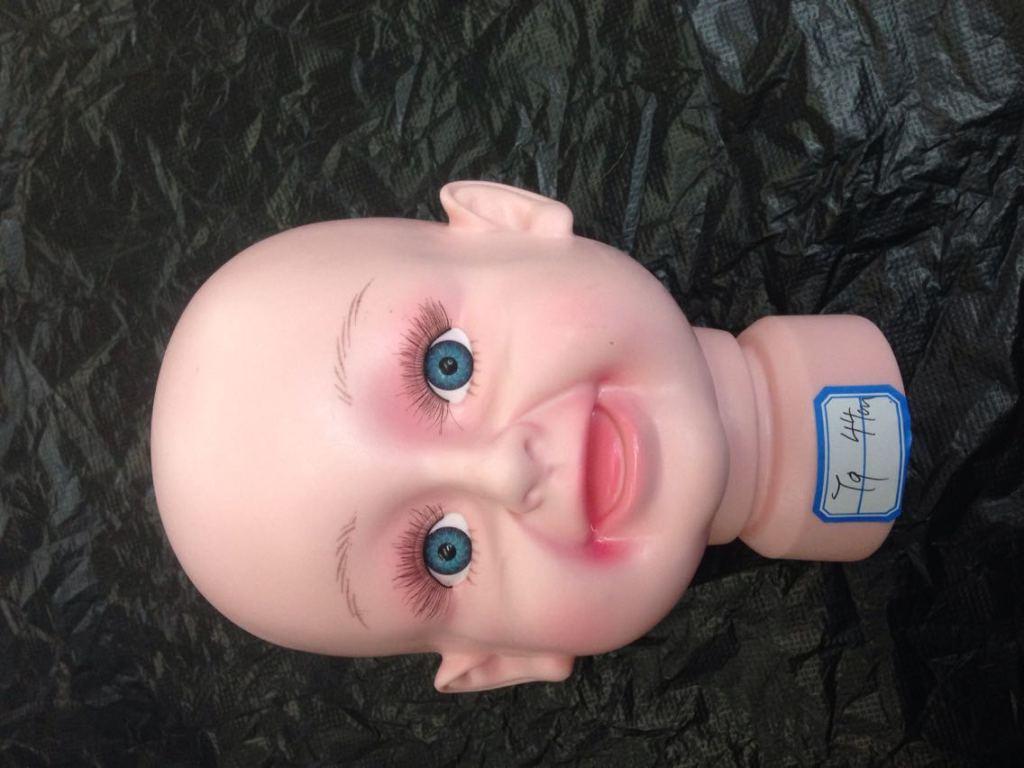 儿童塑料模特头