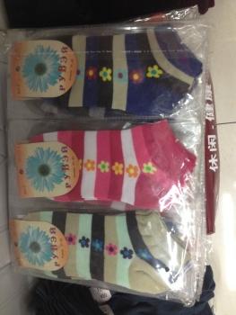 Flower boat socks