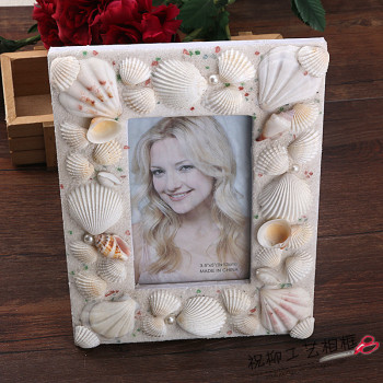 Mediterranean Home Accessories natural shell photo frame photo frame gifts crafts