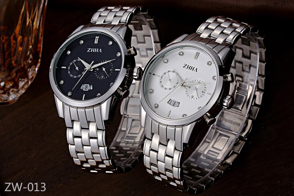 zhha-致豪品牌手表(实心钢表带套装系列)zw-013