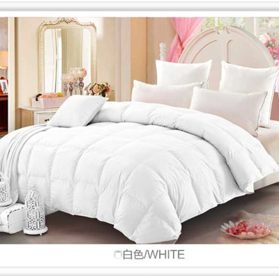 90% pure cotton white goose was a pale pink winter was down by the core