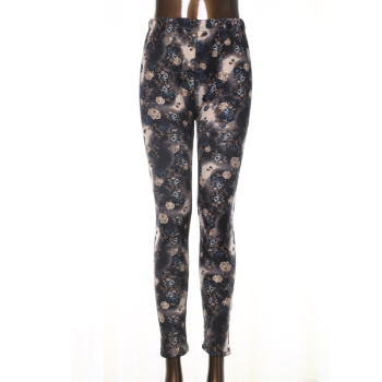 New women's winter  leggings milk silk thickened velvet pencil pants