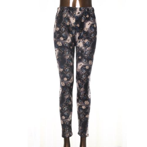New women's winter  leggings milk silk thickened velvet pencil pants